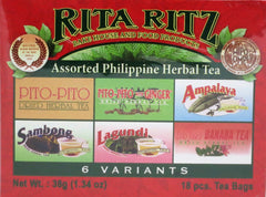 HERBAL ASSORTED TEA 38 G- 18 TEA BAGS