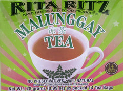 HERBAL MALUNGGAY TEA 28 G- 14 TEA BAGS