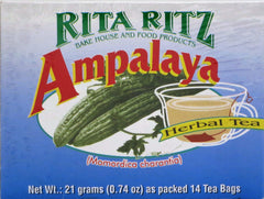 HERBAL AMPALAYA TEA 21 G- 14 TEA BAGS