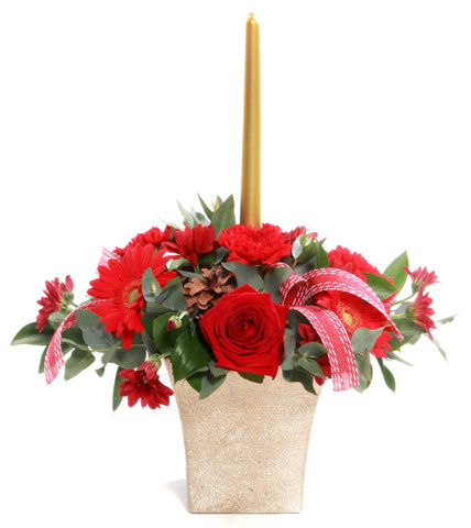 Christmas Arrangement with Pot
