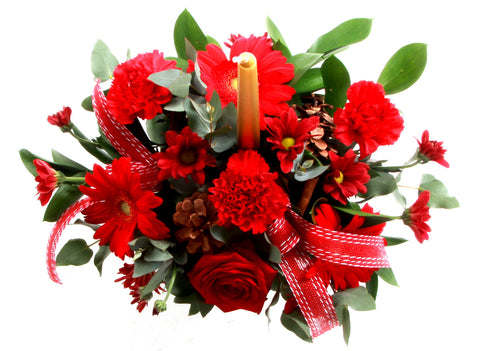 Christmas Table Arrangement Flowers