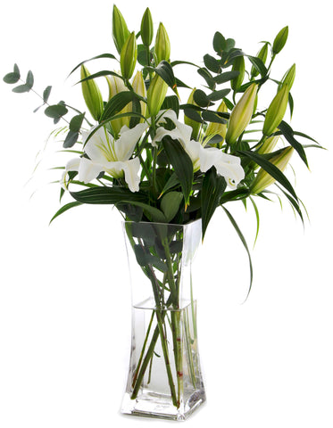 Vase of Lilies