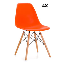 Pack 4x Chaises Style DSW Eames