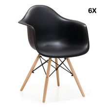 Pack 6x Chaises Style DAW Eames