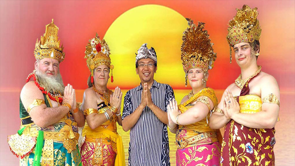 3h+ Amazing Traditional Balinese Photo Costumes incl. Hotel Transfer