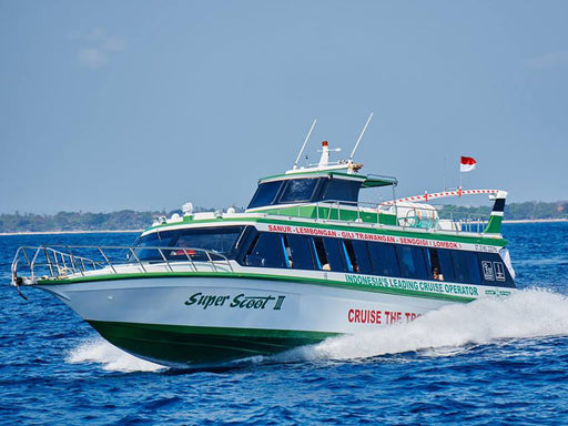 Boat Tickets Bali- Gili's and Lombok incl. Hotel Transfer One way & Return (Via. Nusa Lembongan)