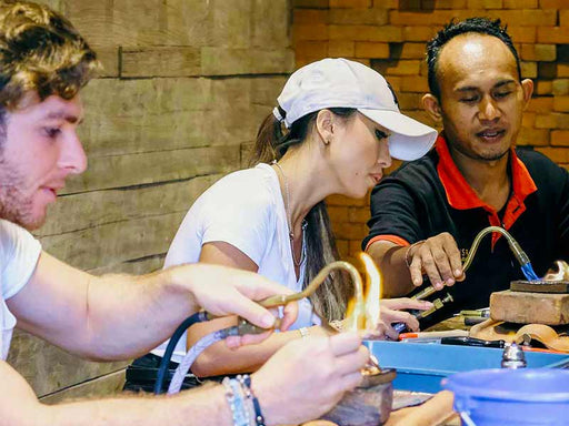 Silver Jewelry Class at Celuk Village near Ubud for All Levels