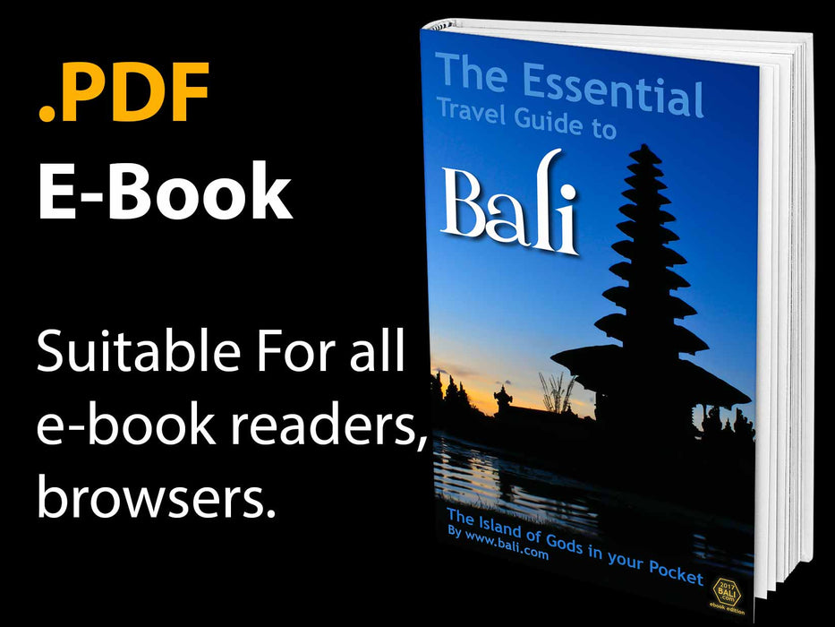 E-Book Essential Bali Travel Guide