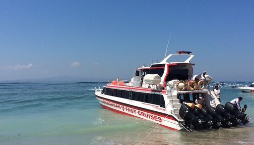 Lembongan One Way & Return Boat Ticket with Hotel Transfer