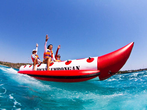 Lembongan Full and Half Board Trip - *Marine Walk, Pontoon, Banana Boat, Island Tour++