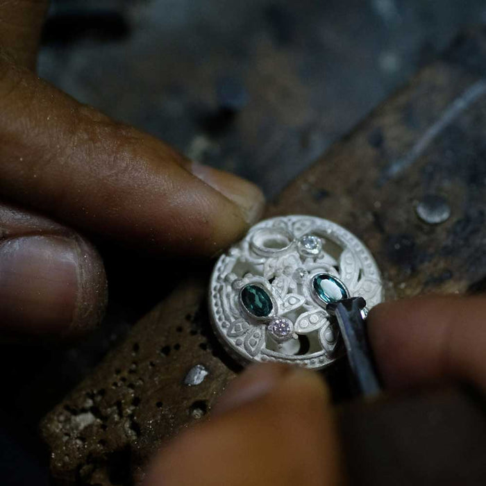 8days Advanced Silver Jewelry Class at Celuk near Ubud