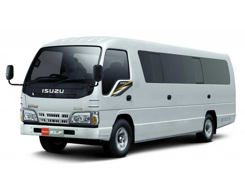 10h MINIBUS Rental with Driver (15 seats)