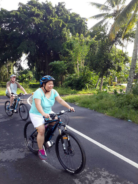 Half-Day Electric Bike Tour to Tegalalang & Tirta Empul