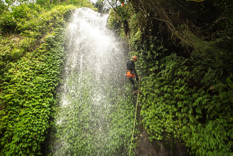 Canyoning in Hidden North Bali Waterfalls - with ICOpro Standards