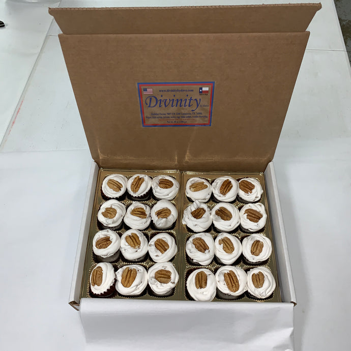 24 Piece Divinity Gift Box With Pecans
