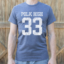 Load image into Gallery viewer, Polk High Number 33 Football T-Shirt (Mens)