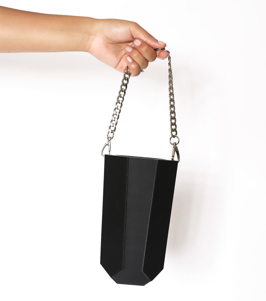 Black Bev Bag