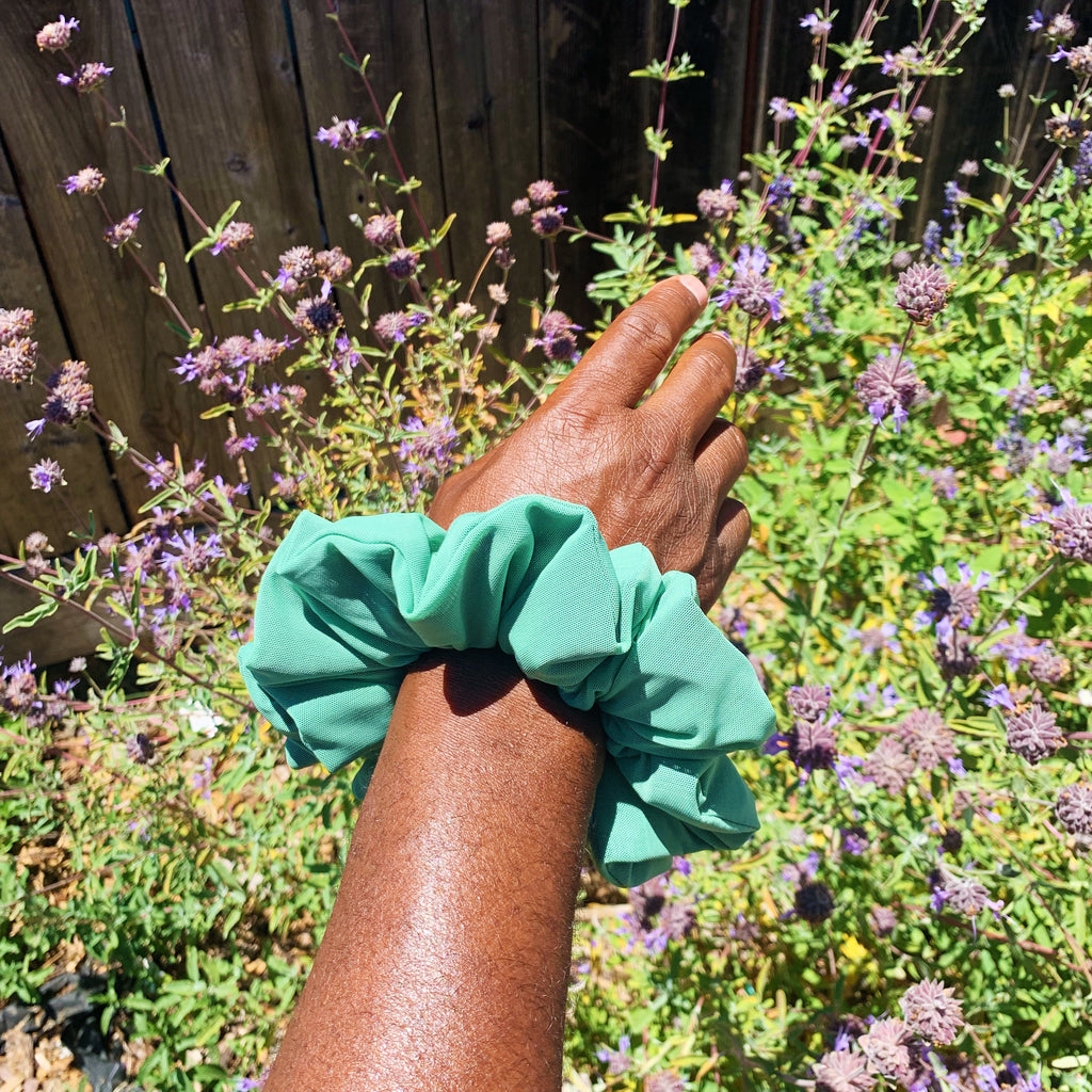 Earth Tone oversized Scrunchies