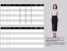 Load image into Gallery viewer, Alisapan Simple Straight Skirt AS01148
