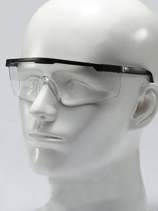 Color=transparent  | Multi-Function Anti-Fog Temple Legs Adjustable Wholesale Safety Glasses-Transparent  1