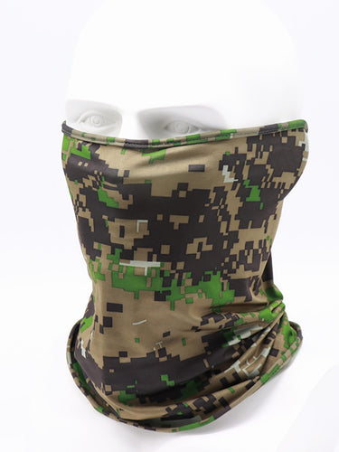 Color=Dark Green | Non-Slip Light Breathable Half Face Wholesale Neck Gaiters For Adults-Dark Green 1