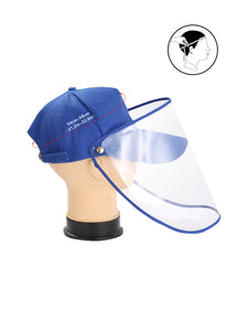 Wholesale Anti-saliva Spring and Summer Removable Shade Protective Hat