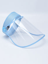 Load image into Gallery viewer, Color=Sky Blue | Wholesale Protective Hd Transparent Adjustable Detachable Safety Face Shield-Sky Blue 1