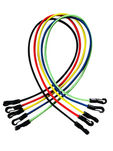 Color=Black | Yoga Resistance Bands Set For Strength Training-Black 3