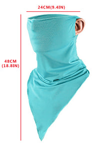 Simple Wholesale Solid Color Neck Gaiter for Outdoor Sports