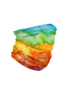 Color=Multicolor2 | Seamless Bandana Face Covering Neck Gaiter Scarf-Multicolor2 3