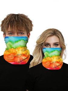 Color=Multicolor2 | Seamless Bandana Face Covering Neck Gaiter Scarf-Multicolor2 1
