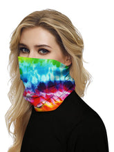 Load image into Gallery viewer, Color=Multicolor3 | Seamless Bandana Face Covering Neck Gaiter Scarf-Multicolor3 2