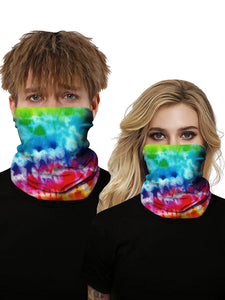 Color=Multicolor3 | Seamless Bandana Face Covering Neck Gaiter Scarf-Multicolor3 1