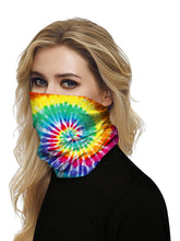 Load image into Gallery viewer, Color=Multicolor6 | Seamless Bandana Face Covering Neck Gaiter Scarf-Multicolor6 2