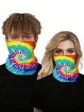 Load image into Gallery viewer, Color=Multicolor6 | Seamless Bandana Face Covering Neck Gaiter Scarf-Multicolor6 1