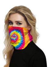 Load image into Gallery viewer, Color=Multicolor7 | Seamless Bandana Face Covering Neck Gaiter Scarf-Multicolor7 2