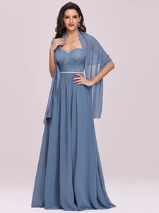 Strapless Wholesale A-line Evening Dress for Women