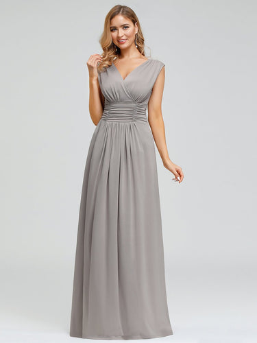 Efashiongirl Ever-Pretty Women's Fashion Double V-Neck Bridesmaid Dresses EP00706