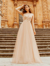 Load image into Gallery viewer, Color=Rose Gold | Women'S Fashion A-Line  Floor Length Bridesmaid Dress-Rose Gold 2