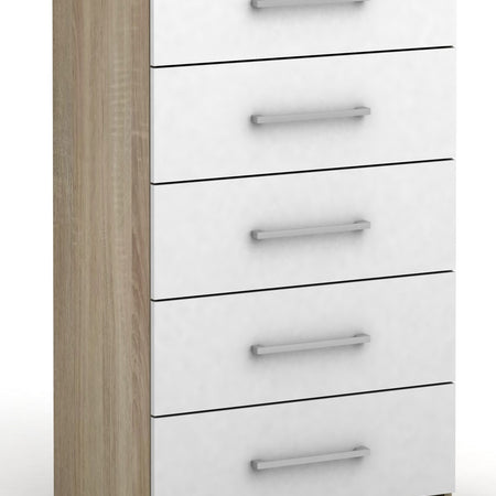 Tribecca Tallboy - 5 Drawer - 20% off selected colours