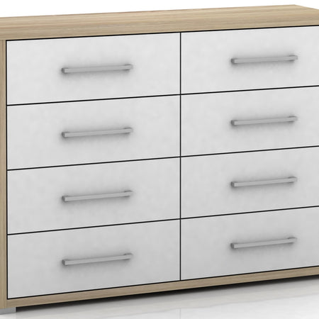 Lowboy - Chest of Drawers - Dresser - 8 Drawer - Polo