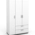Wardrobe - Free Standing - 3 Door & 2 Drawer