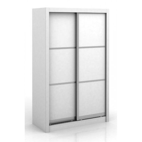 Wardrobe - Storage – Organiser – Free Standing - Sliding Door - White