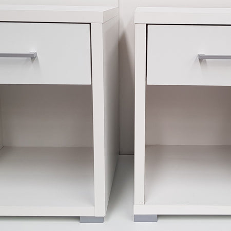 Bedside Tables - Bedside Cabinets - Set of 2 - Polo