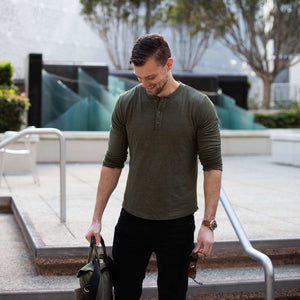 My Favorite Shirt: Why I Chose Henleys