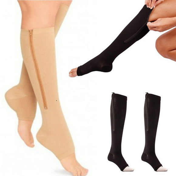 Unisex Open Toe Pain Relief Socks (2 Pack)