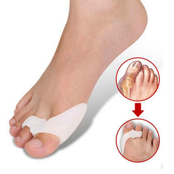 Healing Toe Separators and Bunion Spacers (2 Pack)