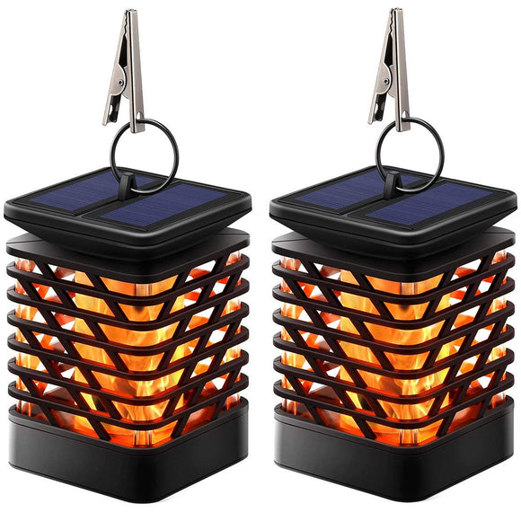 Solar Flicking Flame Lamp