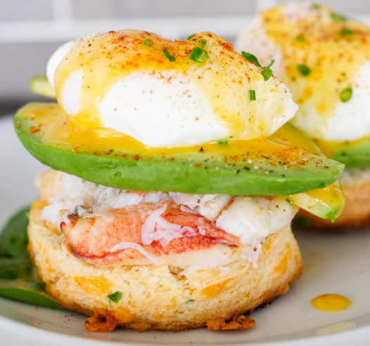 Dungeness Crab Biscuit Benny