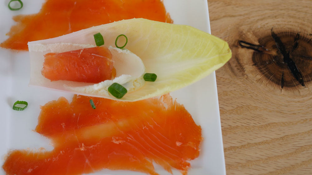 Citrus Cured Salmon
